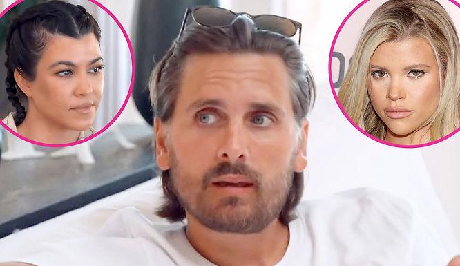 Scott Disick Has a Heart-to-Heart Chat With Kourtney Kardashian About Sofia Richie Split