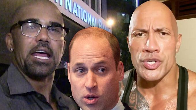 Dwayne Johnson shocked Prince William won the world's sexiest bald man title