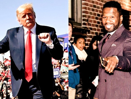 50 Cent Endorses Donald Trump After Seeing Opponent's Tax Plans