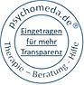 Psychomeda.de Siegel - Eingetragen für mehr Transparenz