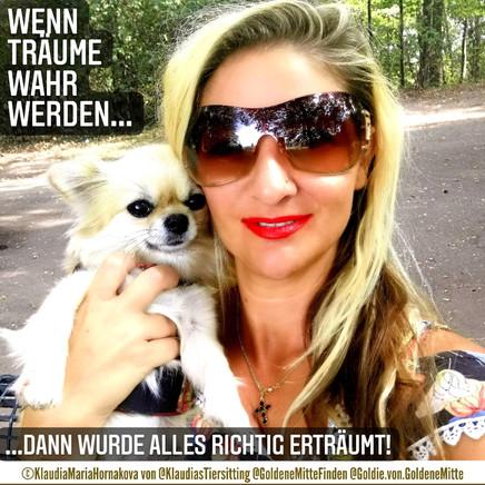 Coach ©KlaudiaMariaHornakova und mein Chihuahua Goldie
