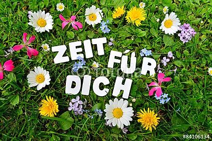 © sonne_fleckl - Fotolia.com - Zeit für dich, Wiese, grün, Blumen
