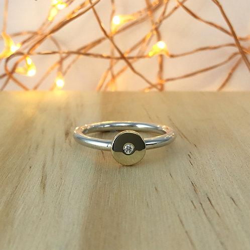 Signet Ring - Diamond Set