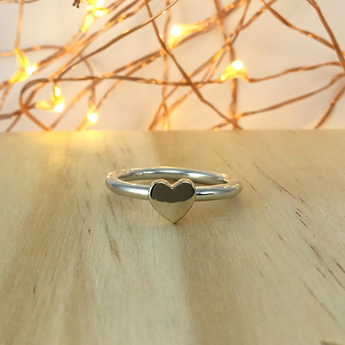 Signet Ring - Heart