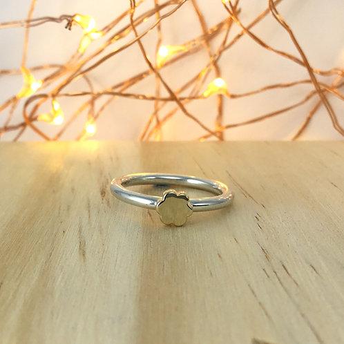 Signet Ring - Flower