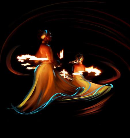 Fire dance I
