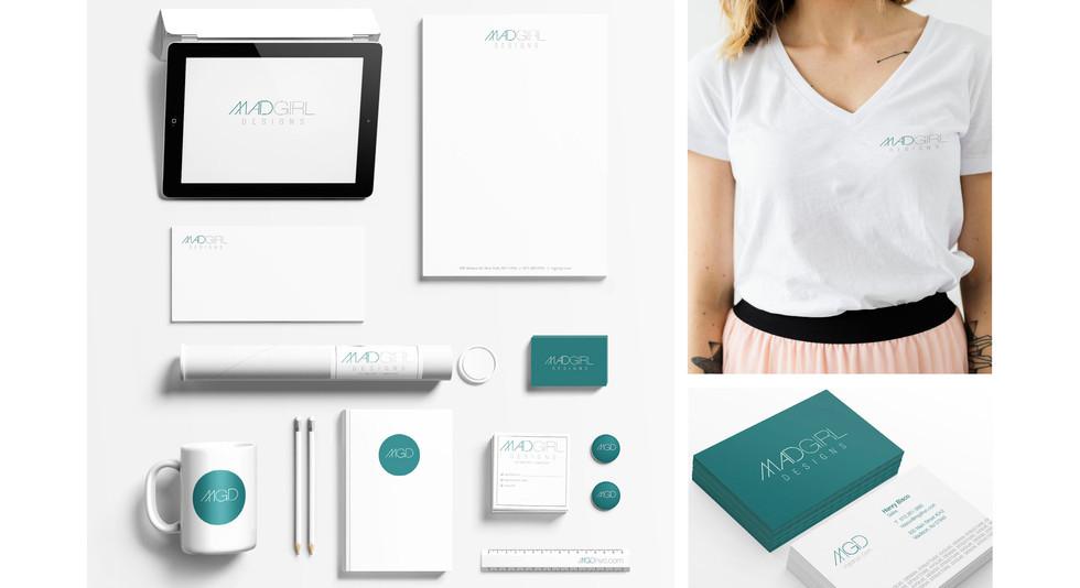 MadGirl Designs Start-up Branding Project