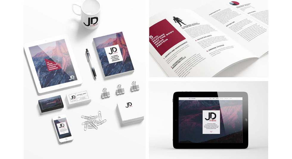 JD Fitness ReBranding Project