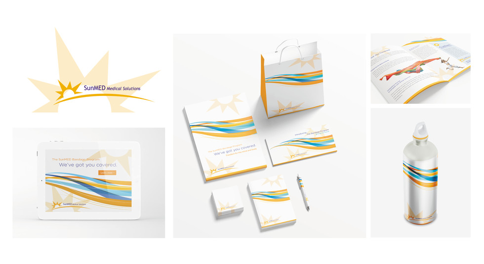 SunMed Medical Solutions Branding Project