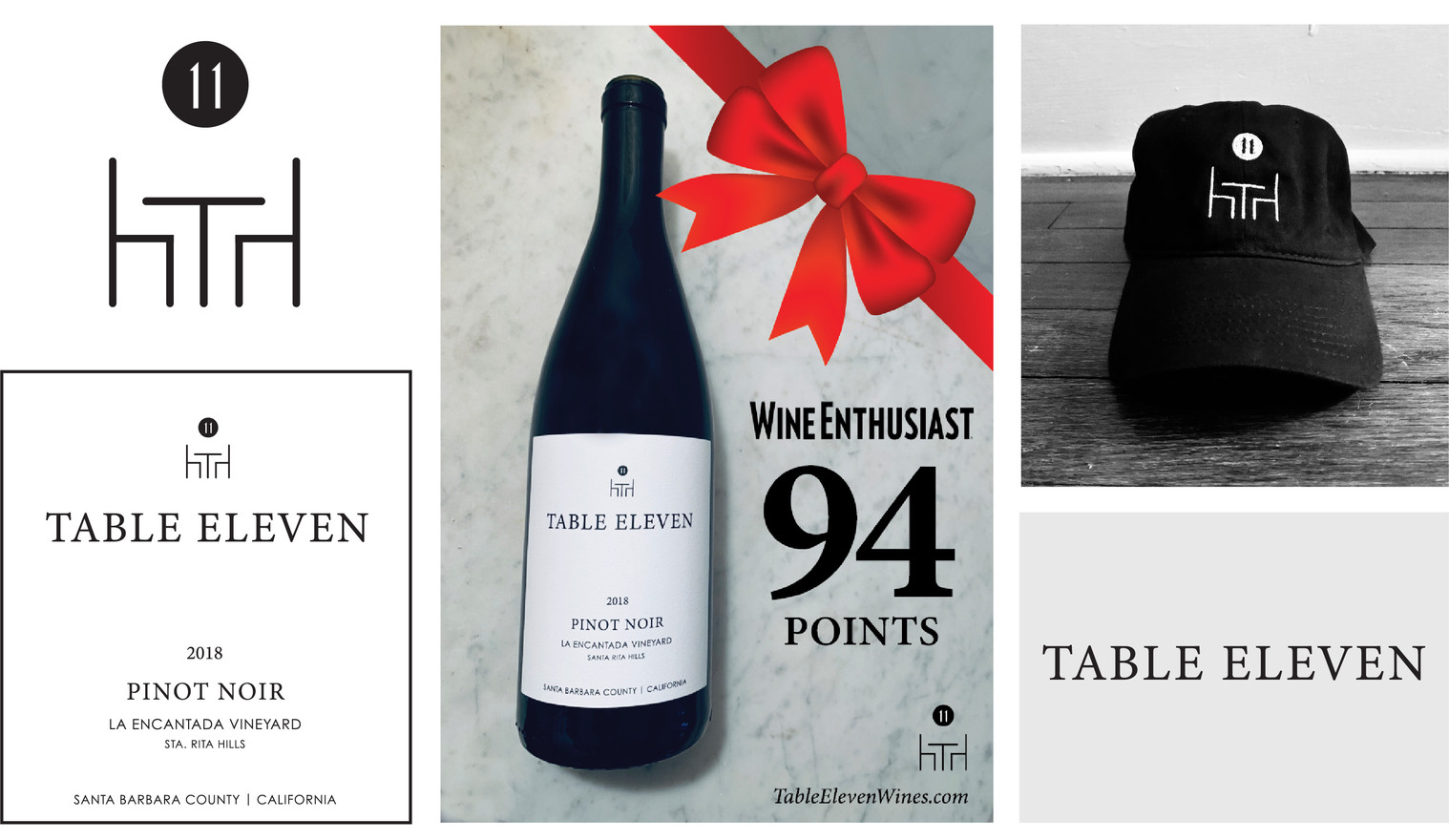 Table Eleven Wines Branding