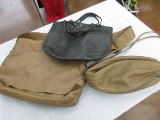 ヨーガンレールのレザーバッグを買取いたしました。