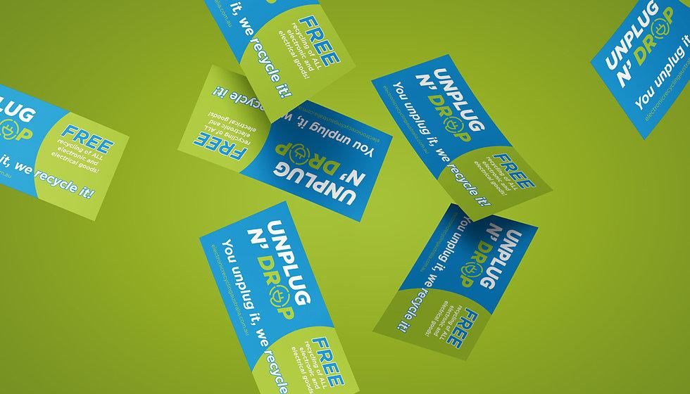 Electronic Recycling Australia flyers