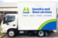Minda Truck Branding