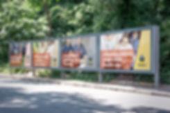 Flinders University signage