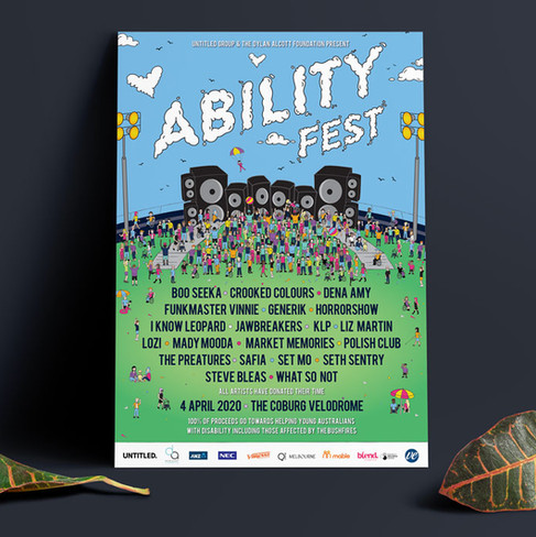 AbilityFest Poster