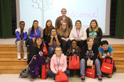 The COHS Group at Girls Coding Event