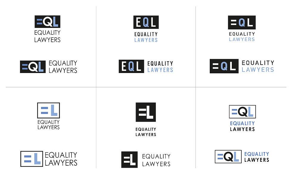 Equality Lawyers logo development