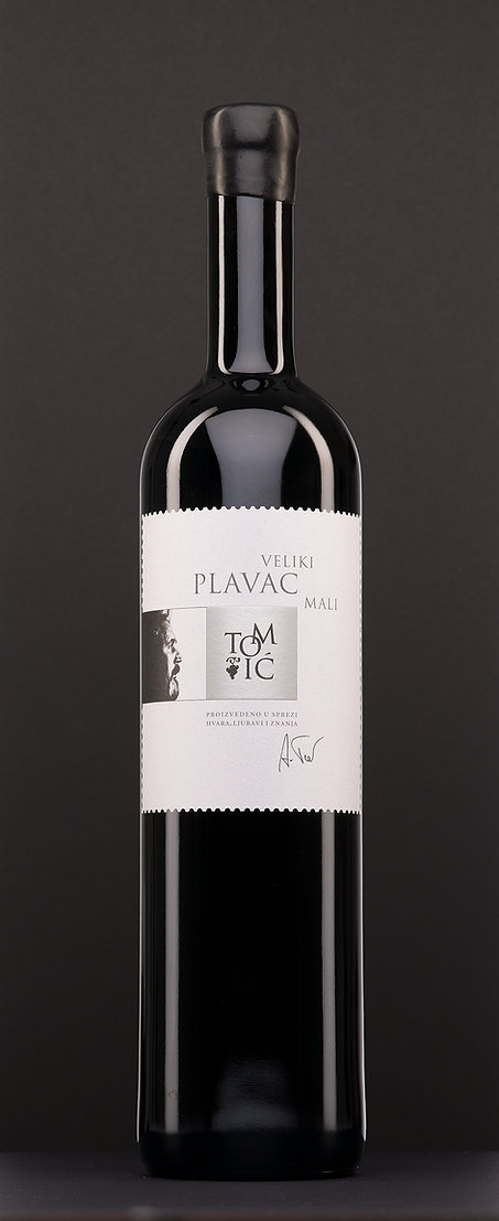 Veliki plavac mali, vrhunsko suho crno vino