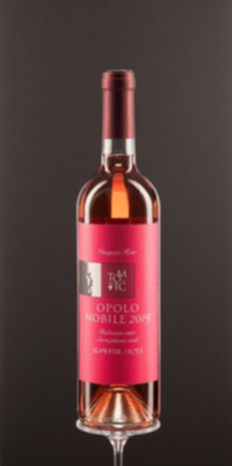 Opolo nobile, dry pink wine, quality wine