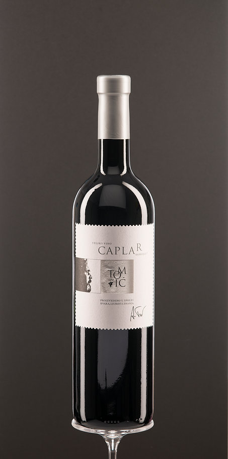 Caplar, dry red wine, top quality wine