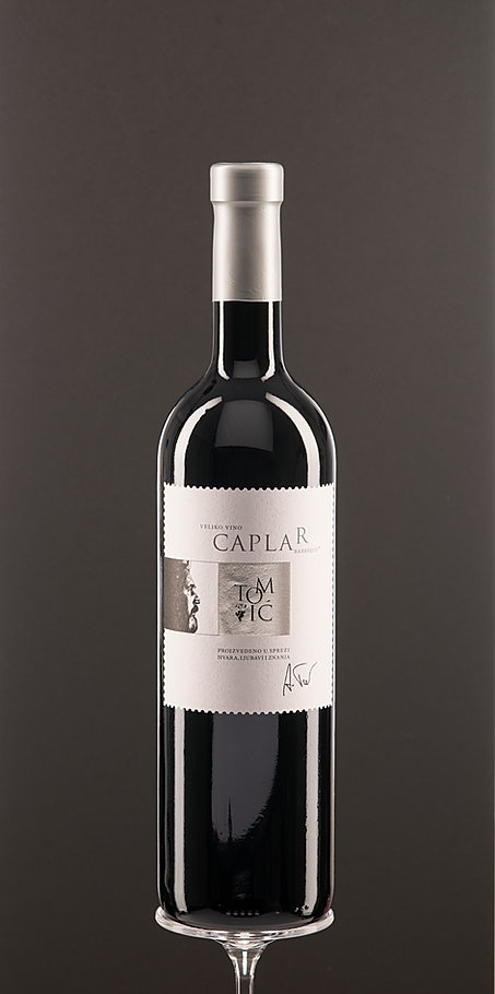 Caplar, dry red wine, top quality wine