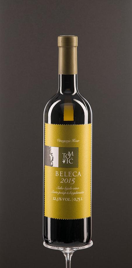 Beleca, dry white wine, quality wine