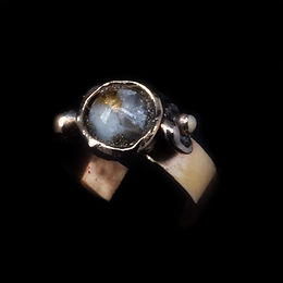 Bronze Copper Calcite Ring.jpg