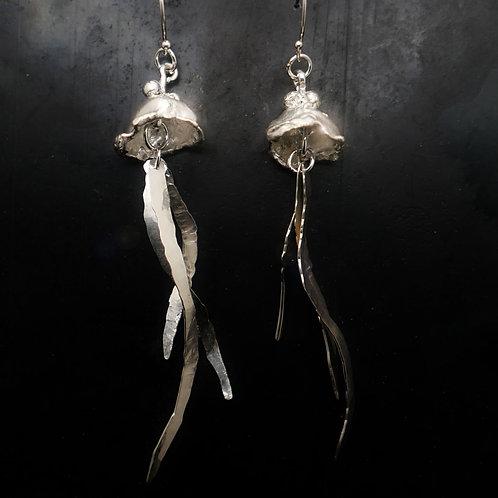 """Jellyfish"" Earrings."