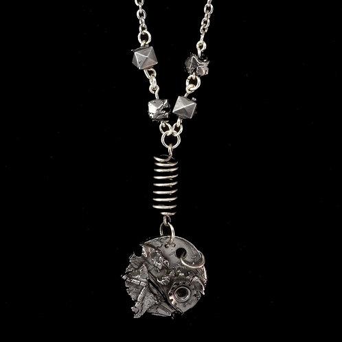 Steel Industrial Necklace