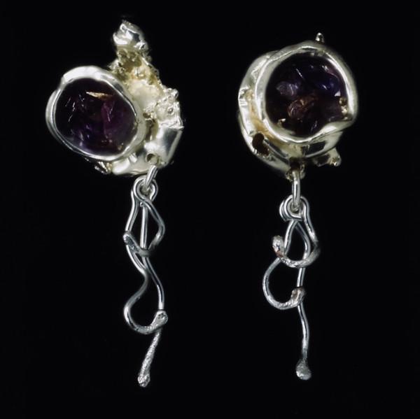 Silver_Amethyst Nugget Earrings.jpg