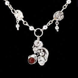 Silver:Carnelian Water Necklace.jpg