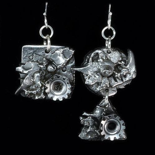 Steel Industrial Earrings