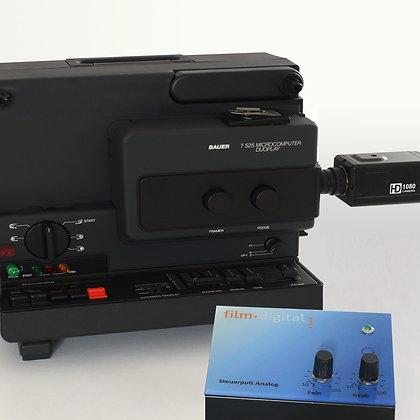 1006 | Super 8 Set (Bauer T525) für Filmtransfer mit HD-Kamera 6006