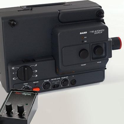 1001 | Super 8 / Normal 8 Filmtransfer-Projektor (Bauer T192) für Camcorder