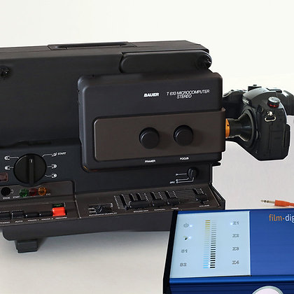 1014 | Super 8 Komplettset (Bauer T610) mit Panasonic Lumix DC-GH5