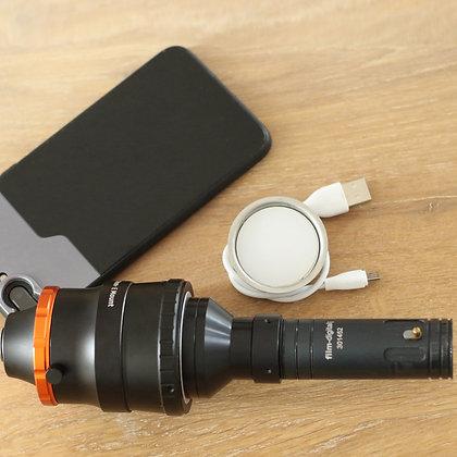 1111 | Set de transferencia de películas con su propio smartphone/iPhone y su propio proyector.