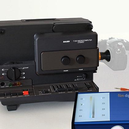 1015 | Super 8 Set para tu propia cámara DSLR o cámara de cine / Bauer T610