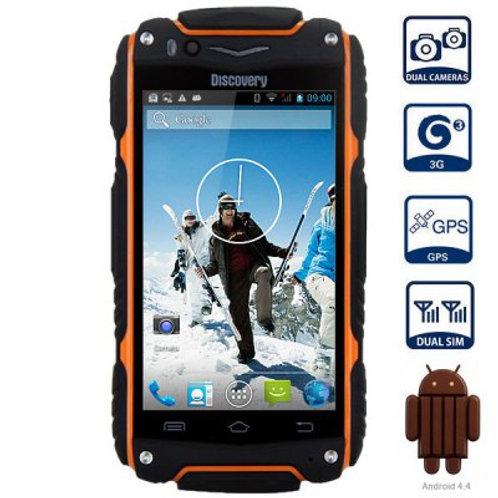"""KT88V 4"""" Waterproof phone (Orange)"""