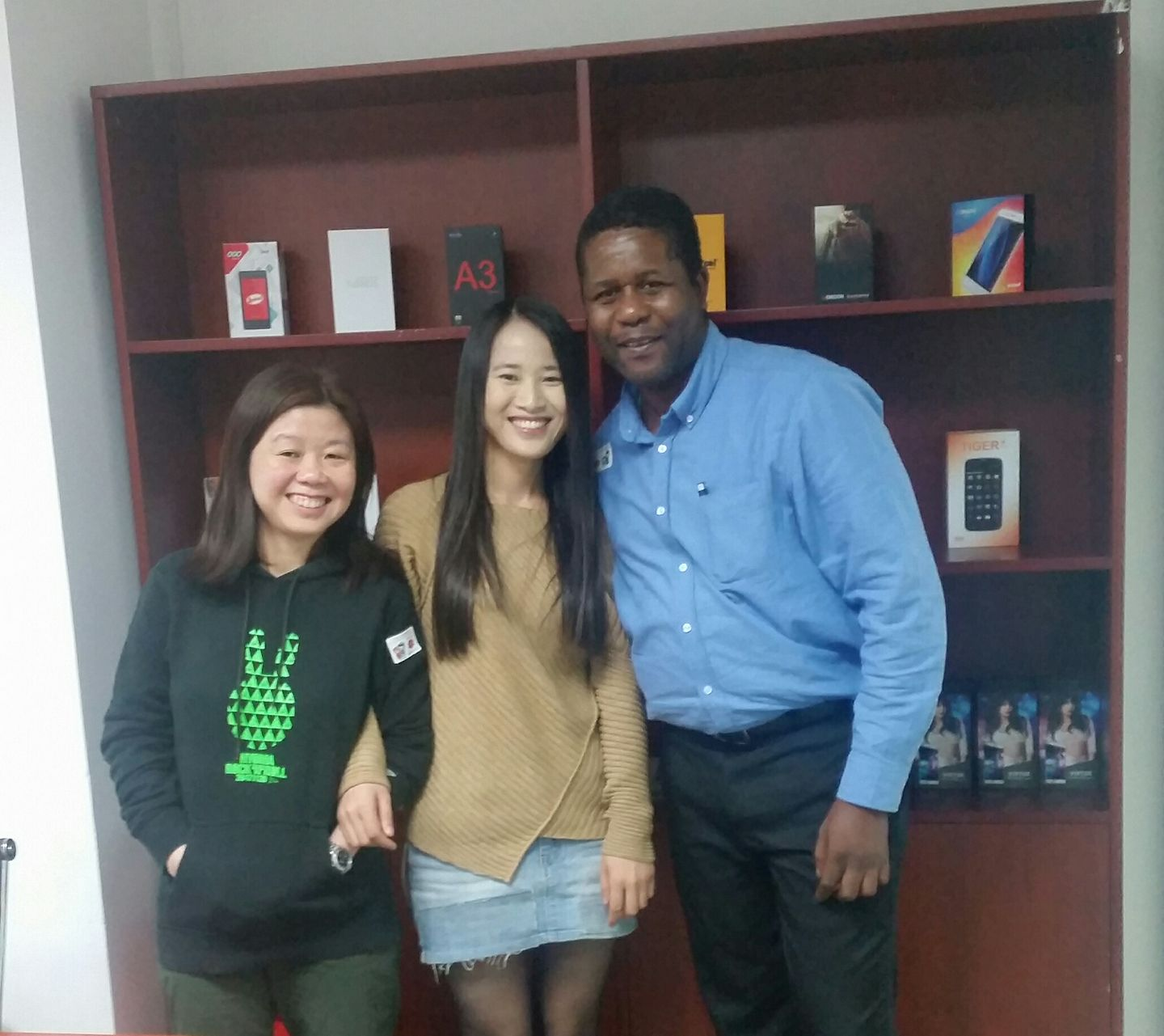 With Sales Director - Bella and Phoebe (KachoTel Business Ops Manager)