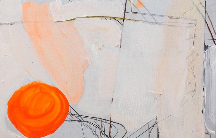 Pintura Carlos Sebastiá - En el borde de la balsa