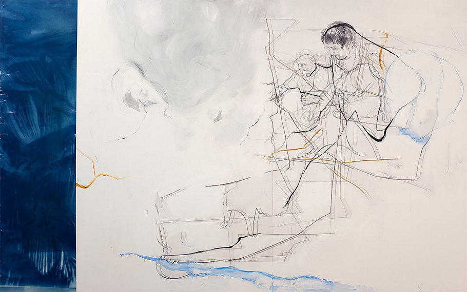 Pintura Carlos Sebastiá -  Hay temas que es mejor no tocar! 1