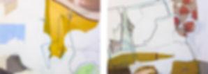 Pintura Carlos Sebastiá - Encuentros casuales