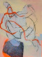 Pintura Carlos Sebastiá -  Careful when you get up