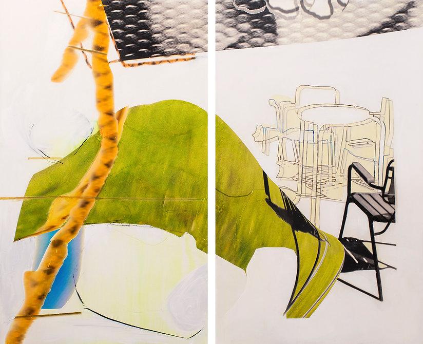 Pintura Carlos Sebastiá - adolescencia en el club naútico.jp