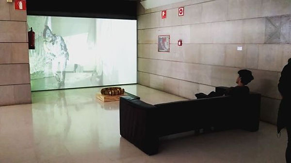 _CAPAS_ This is video installation in co