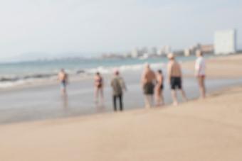 Turistas en Vallarta
