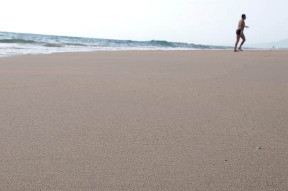 Bañista en Vallarta