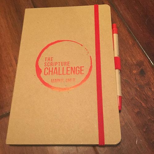 The Scripture Challenge Journal & Pen