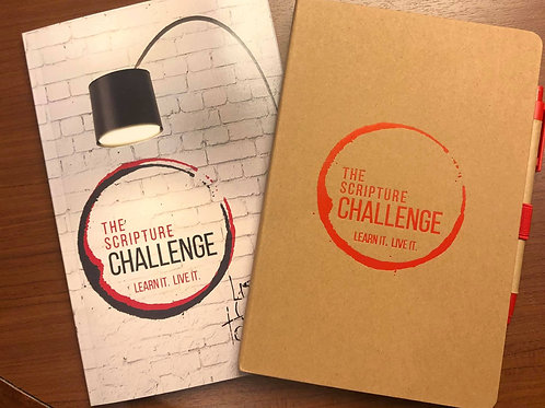 The Scripture Challenge Bundle (Journal & Book & Pen/Stylus)