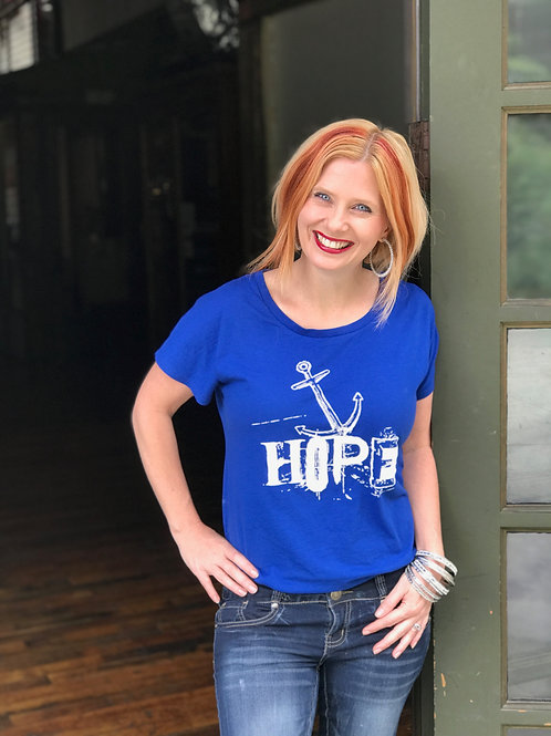 Anchored In Hope Tee Shirt